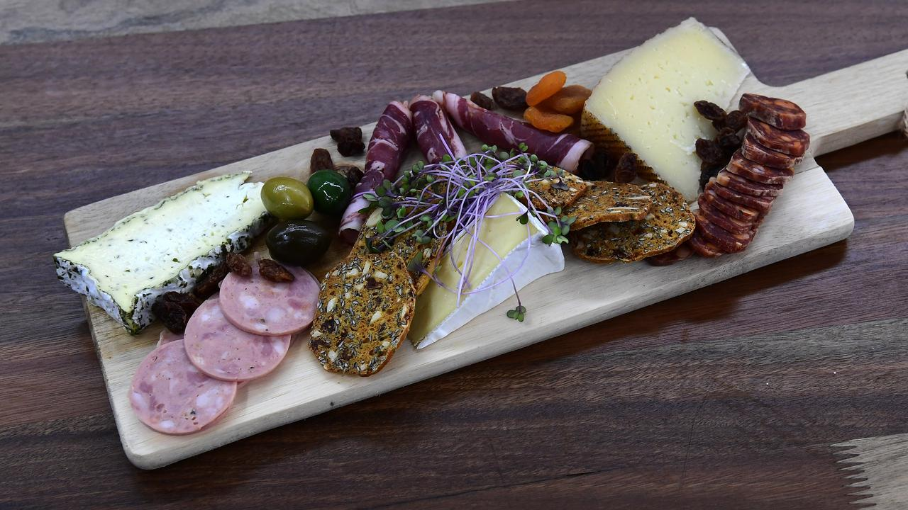 YES PLEASE: The Deli Platter. Picture: Mike Knott.