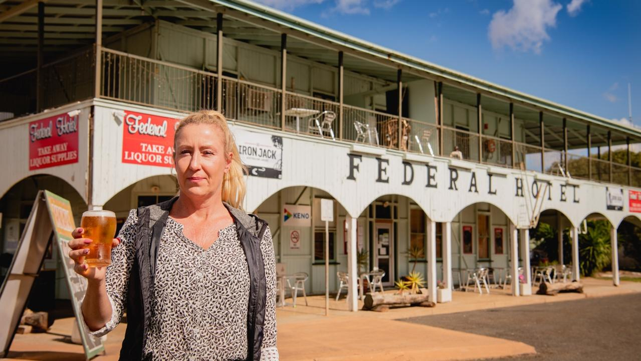 Samantha Senescall is the owner of the Federal Hotel. She has received a fine for breaching Covid 19 regulations. Photo - Katarina Silvester
