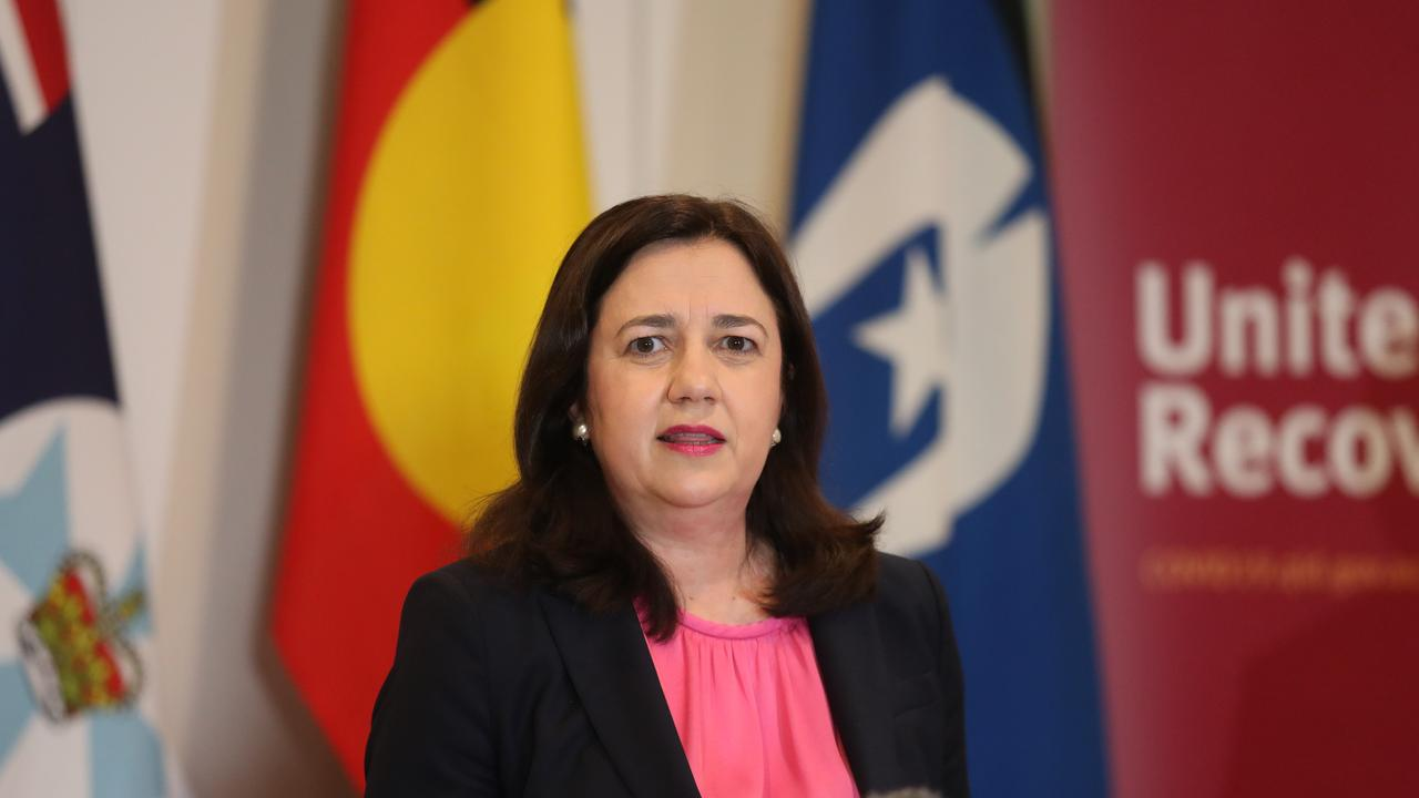 Premier Annastacia Palaszczuk made the tough decision on Queensland borders after consultation with the Chief Health Officer and deputy premier.