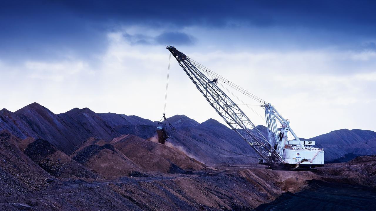 BMA'S Daunia Mine. Picture: BMA