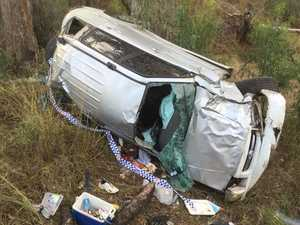 'Lucky to be alive': Police plea for rural drivers
