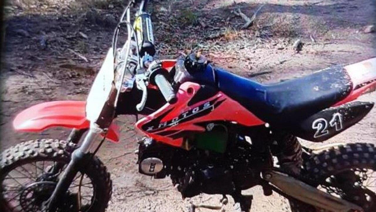 The motorbike that was stolen in Maryborough recently.