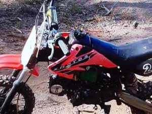 Police ask public for help after motorbike theft