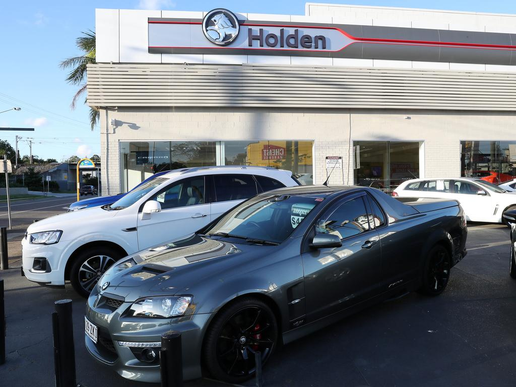 The Holden dealership at Newmarket, Brisbane. Photographer: Liam Kidston.