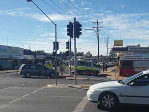 Two vehicle crash Haly St, Kingaroy