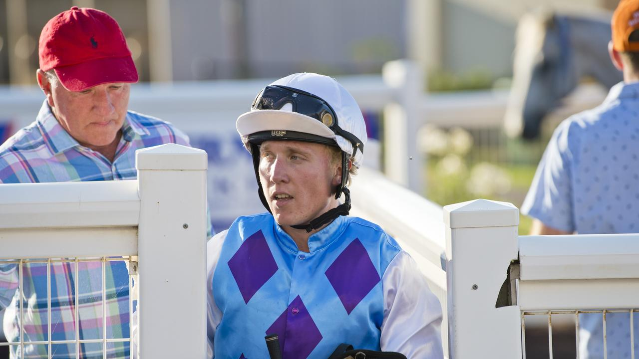 TOP CONTENDER: Trainer Lindsay Hatch (left) has four leading hopes at Clifford Park tomorrow night. Picture: Kevin Farmer