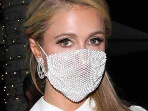 Paris Hilton debuts ridiculous face mask