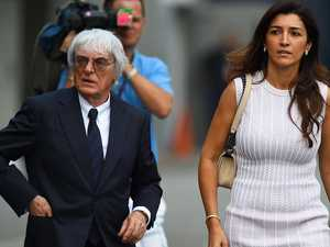 F1 mogul, 89, has 4th child with 44yo wife