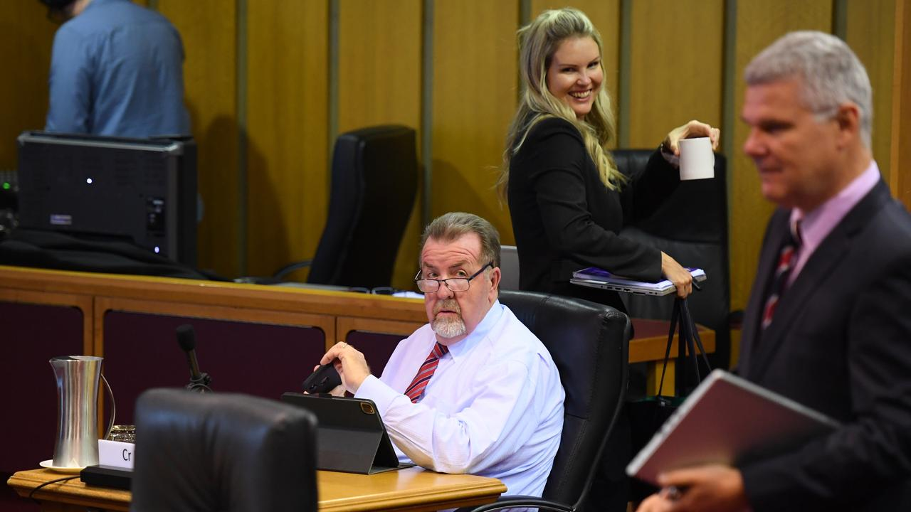Ipswich City Council meeting held on Wednesday. Cr Paul Tully.