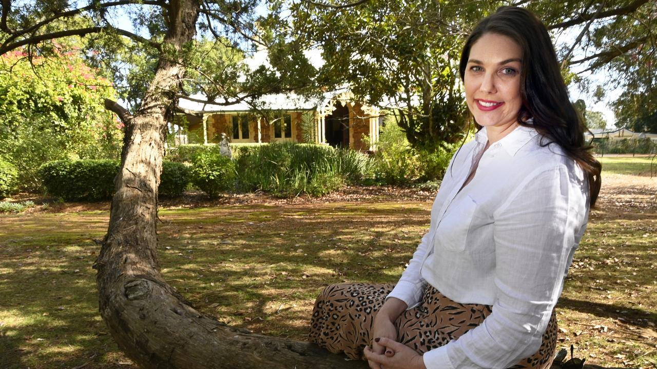 Historic Weetwood Homestead, Tor Street, is Toowoomba's latest wedding venue. Brooke Sleaford, owner and director of Moonlight Glamping and Events