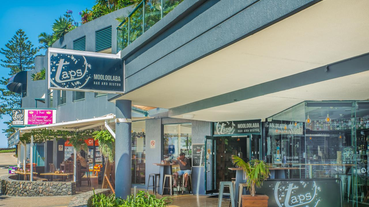 Taps Mooloolaba will be able to have increased capacity and bar service after the relaxation of Queensland's COVID-19 restrictions.