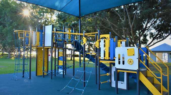 New playground unveiled at Gladstone's Marina