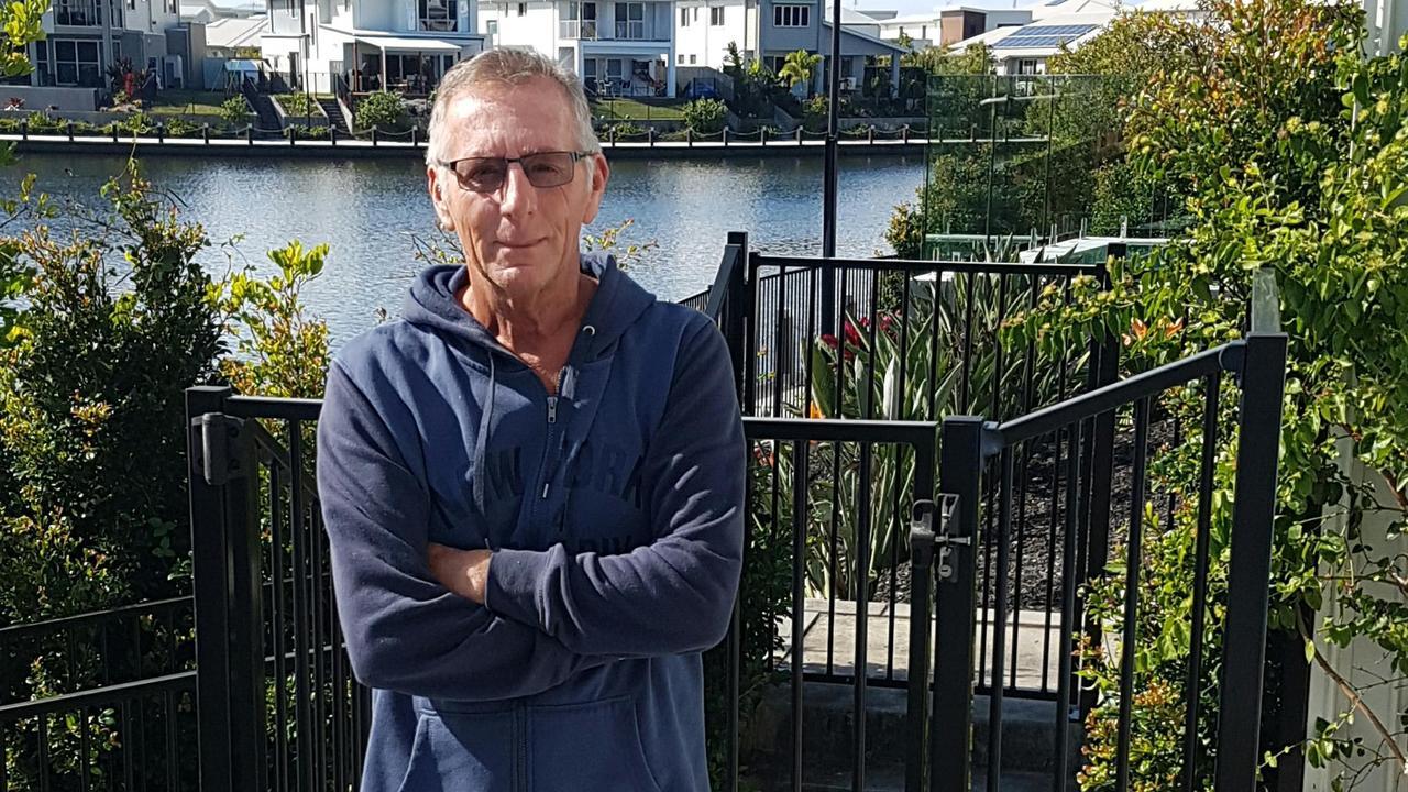 Former Spotless security guard at Sunshine Plaza, Tony Bush.