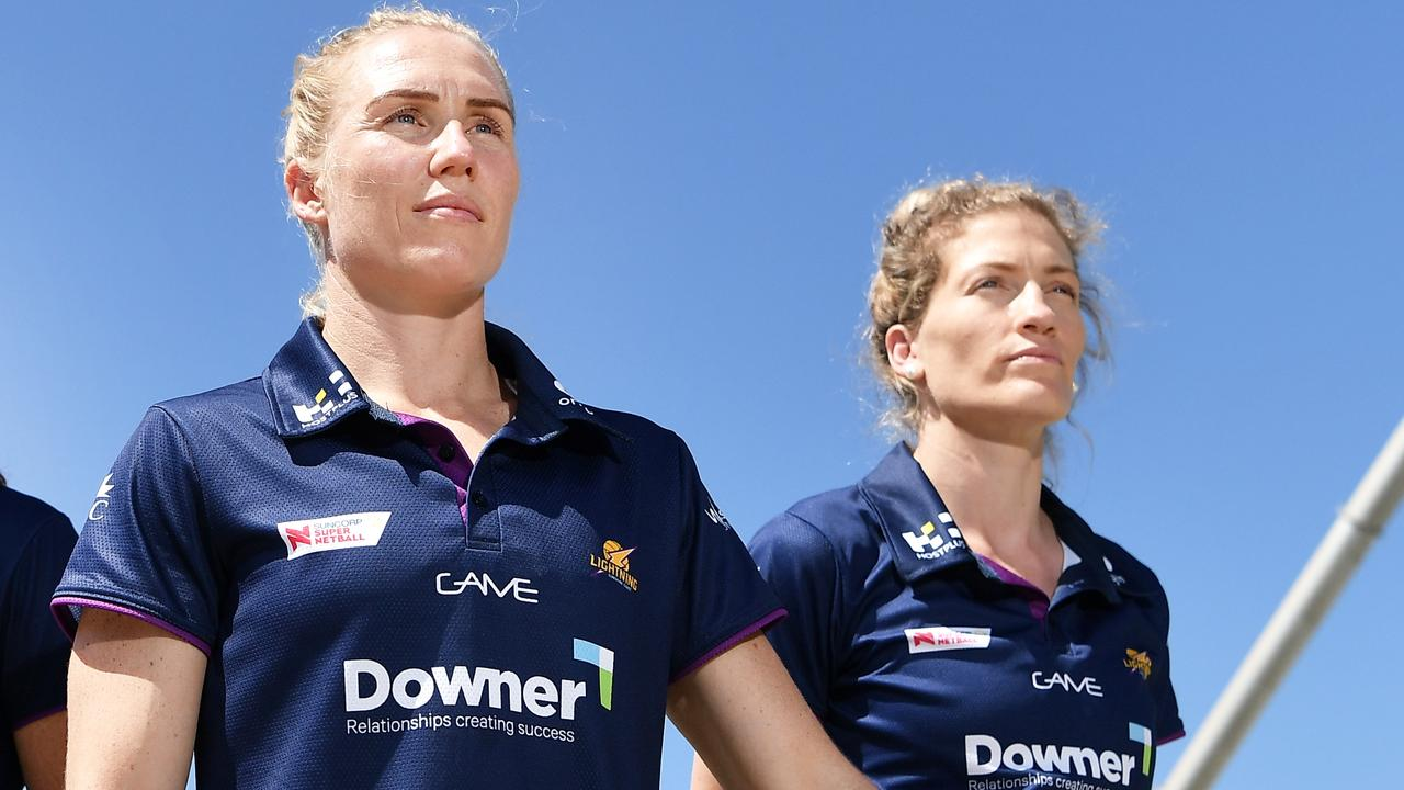 Lightning's Laura Langman and Karla Pretorius will retain their captaincy roles for the 2020 season. Photo Patrick Woods / Sunshine Coast Daily.