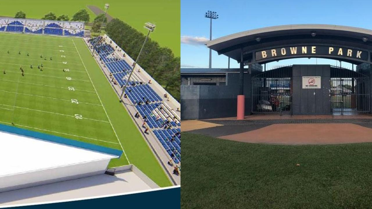 STADIUM BATTLE: The two rival Rockhampton Stadium bids at Victoria Park and Browne Park have divided the support of politicians and the public.