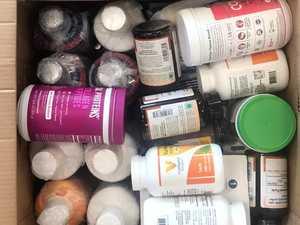 Drug smuggler disguised meth as vitamins