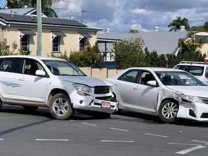 BREAKING: Two-car crash slows traffic in M'boro