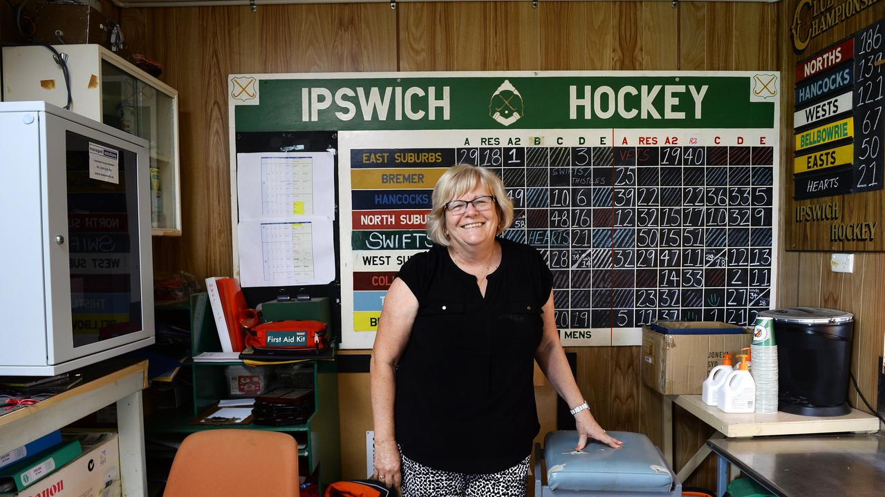 Former Ipswich Hockey Association president and current secretary Margret Mantell. Picture: Rob Williams