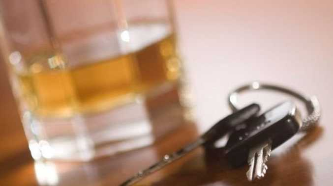 Suspended driver busted drunk behind the wheel