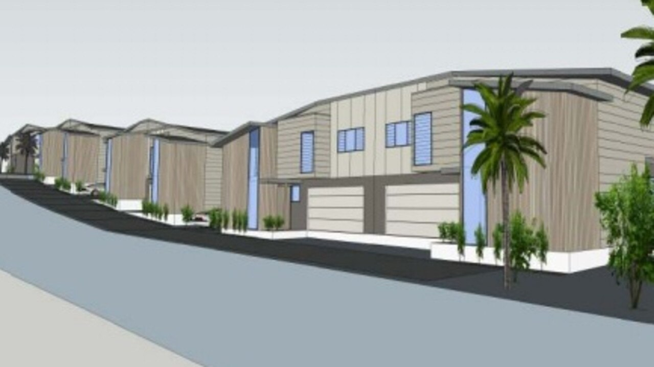 A seven-dwelling development has been proposed for Byron Bay.