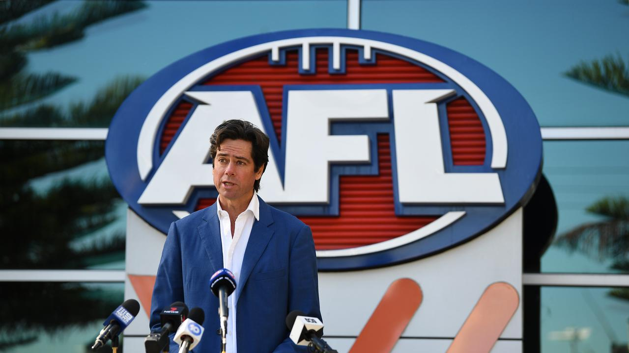 Hundreds of AFL jobs will be slashed. Picture: AAP Image/James Ross