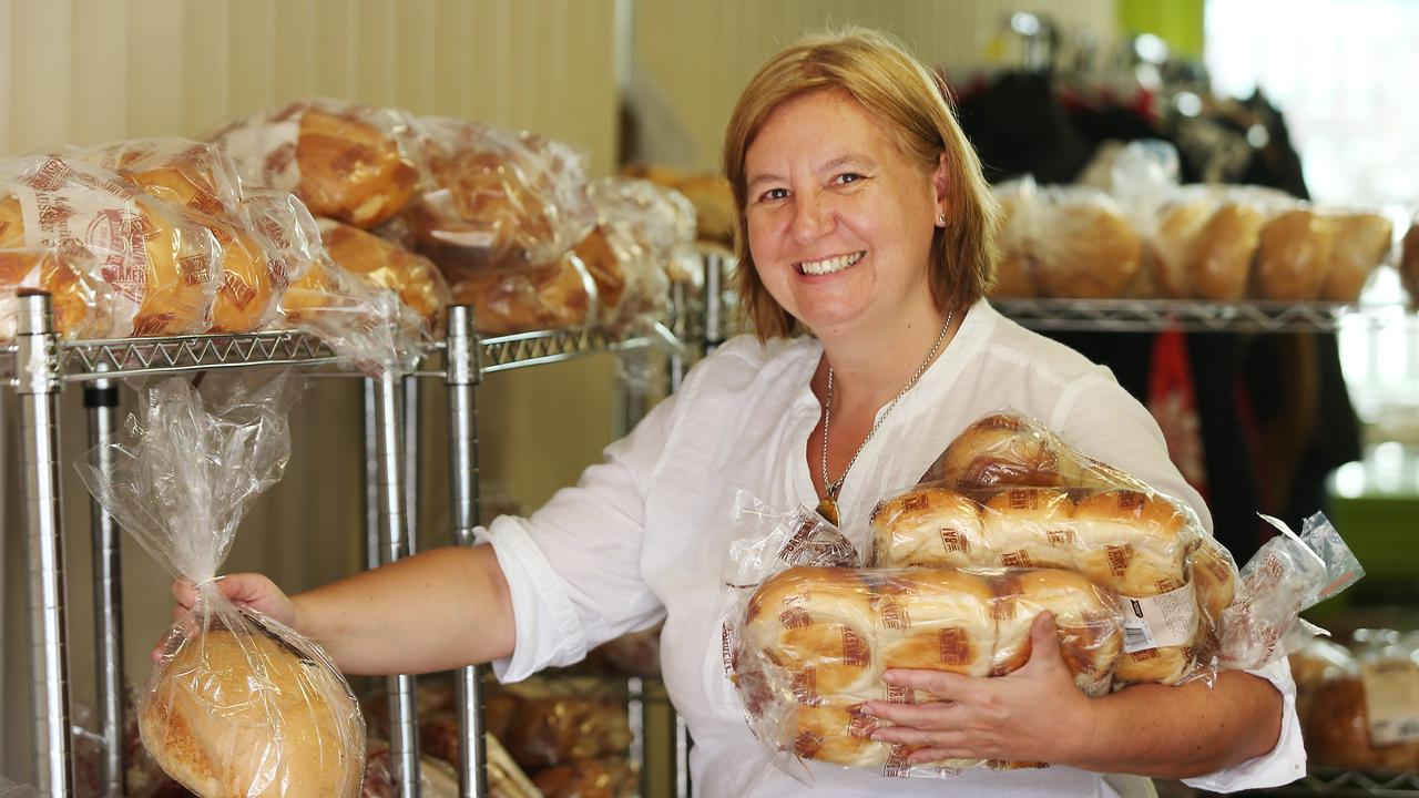 Theresa Roberts, at the Anglicare food bank and opportunity shop on Lake Street. PICTURE: BRENDAN RADKE