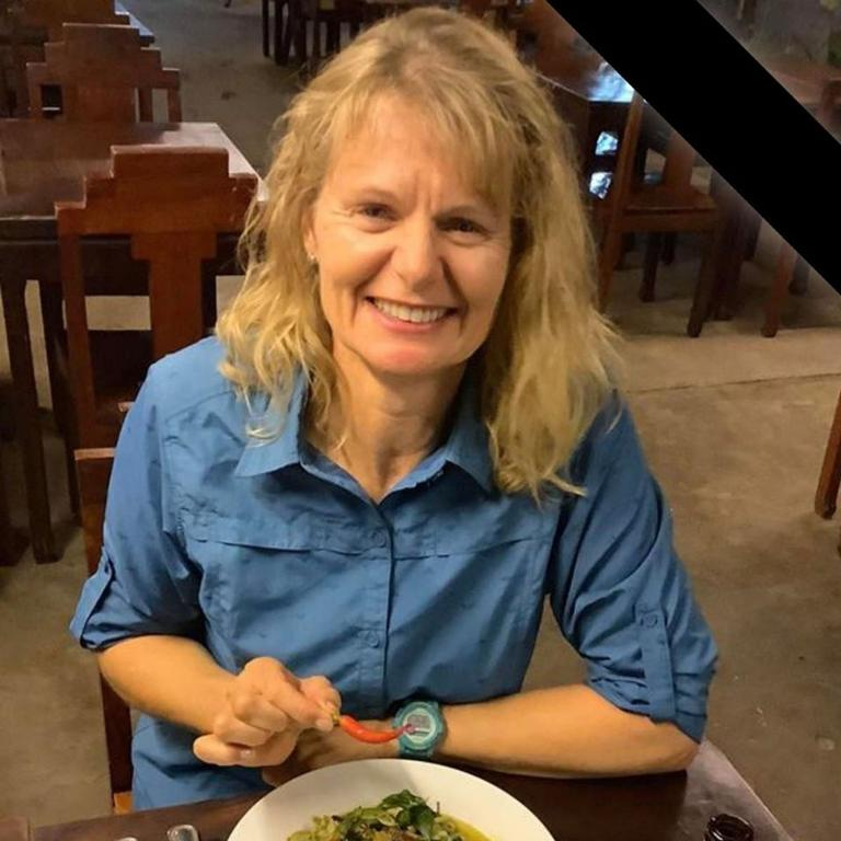 Carolyn Lister, the cyclist from today's fatal traffic crash, she was a nurse at the Royal Brisbane and Women's Hospital – Photo Supplied Facebook