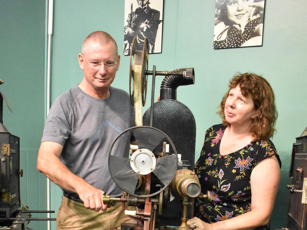 Kyogle Cinema co-owner Richard Harris (pixtured with Cheryl Harris) says patron safety is the cinema's priority.