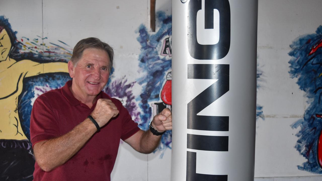HITTING HARD: Warwick Boxing Club president Mick Gaffney has been rolling with the punches since coronavirus occurred.