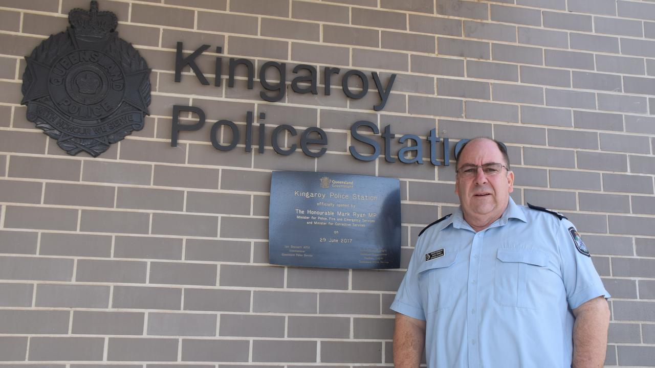 Kingaroy Senior Sergeant David Tierney said ice continues to be the biggest concern for police across the South Burnett. (Picture: Tristan Evert)
