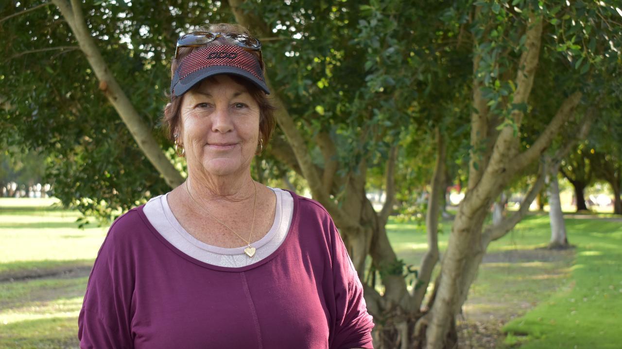 Deb Hamilton at Queens Park, Goldsmith St, Mackay. Picture: Heidi Petith