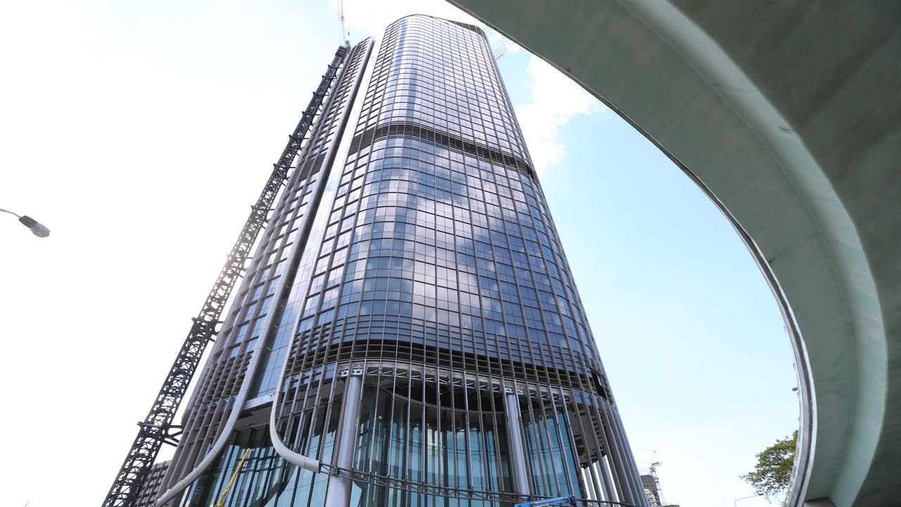 Public servants, like those working in Brisbane's 1 William St, have been advised to take note of the CCC's report. Picture: Lyndon Mechielsen/The Australian