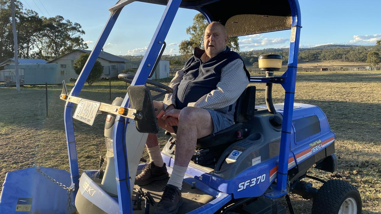 OFF-ROAD: The Warwick Clean Up group is set to fold, with final member Graham Buchner stepping down after almost 30 years of tireless community service. Picture: Jessica Paul