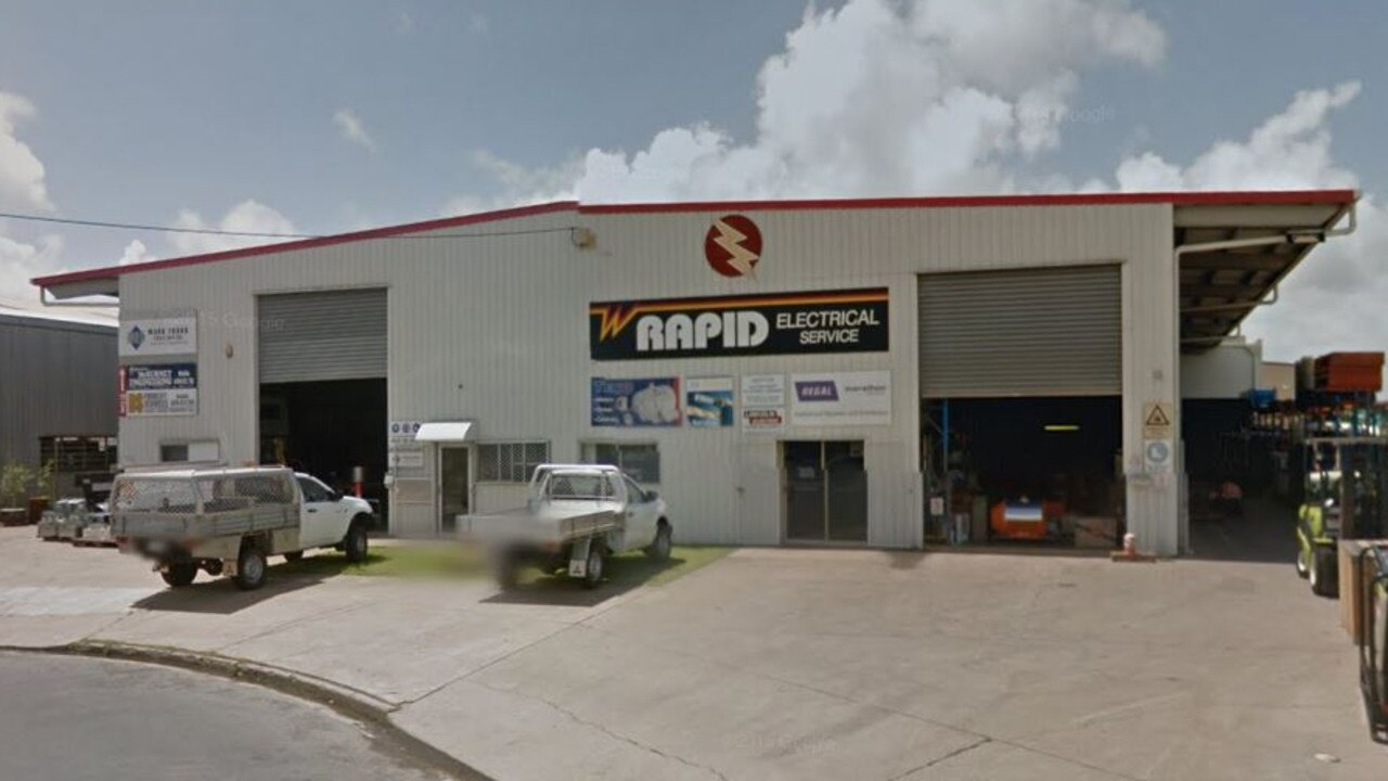 Rapid Electrical Service in Mackay is owed about $8000.