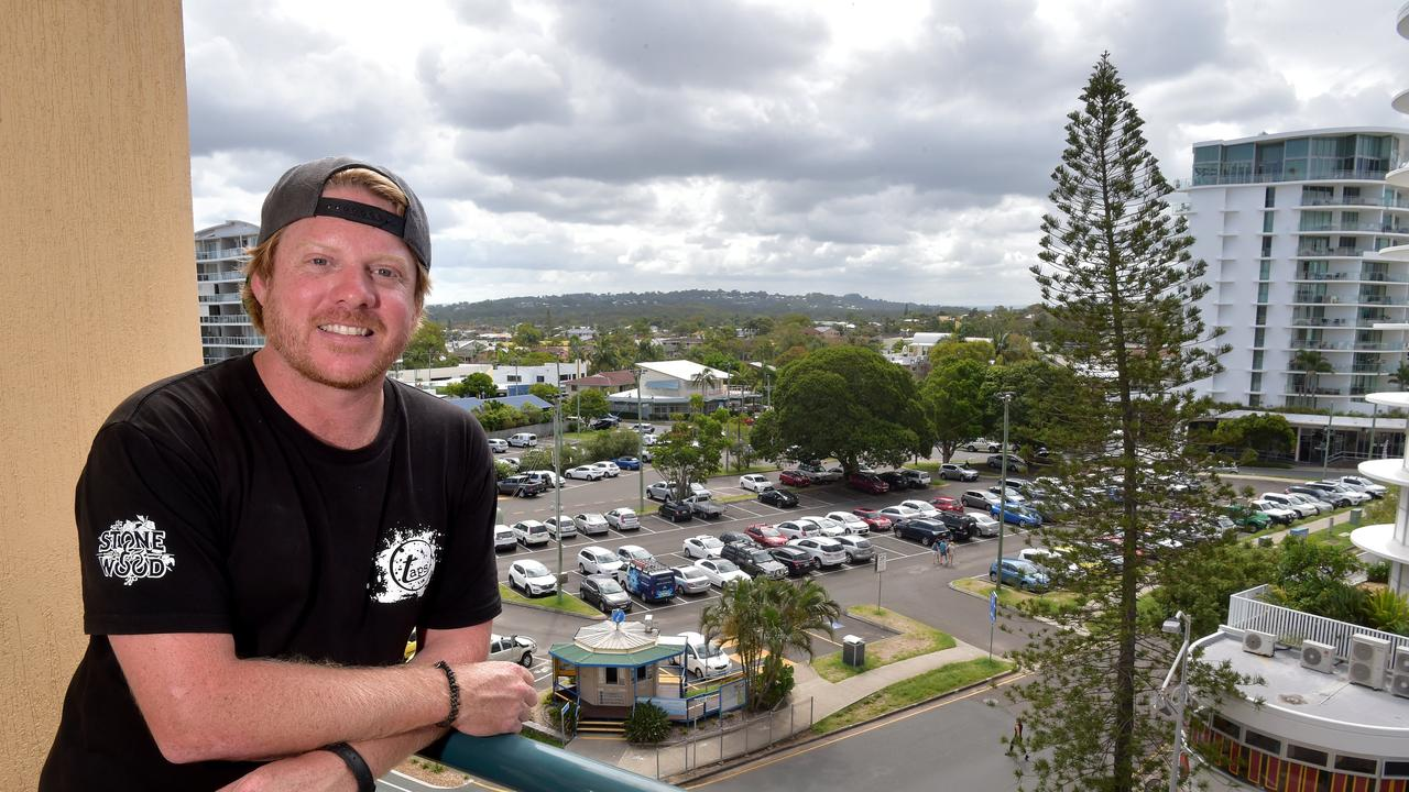 Plans for the Brisbane Road carpark at Mooloolaba have been released. Taps owner Steve Barber is glad restrictions are easing.