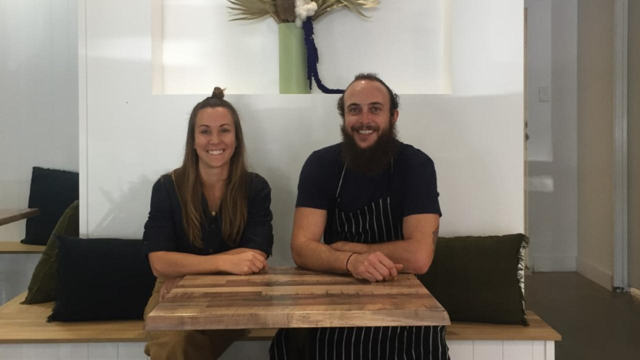Little Parliament managing director Carly Ladas and head chef Mick Anderson.