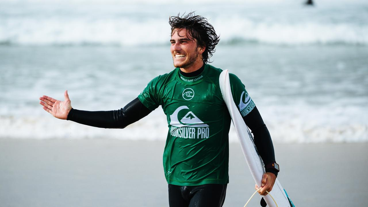 INJURY: Reef Heazlewood has had shoulder surgery. Picture: WSL/Dunbar