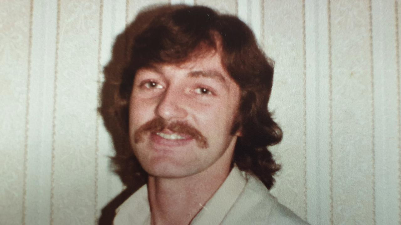 An undercover look of former police officer Keith Banks in 1981.