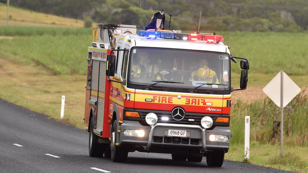 CAR ON FIRE: Queensland Fire and Emergencies Services attended a car fire this morning in Wattle Camp. Picture: File.