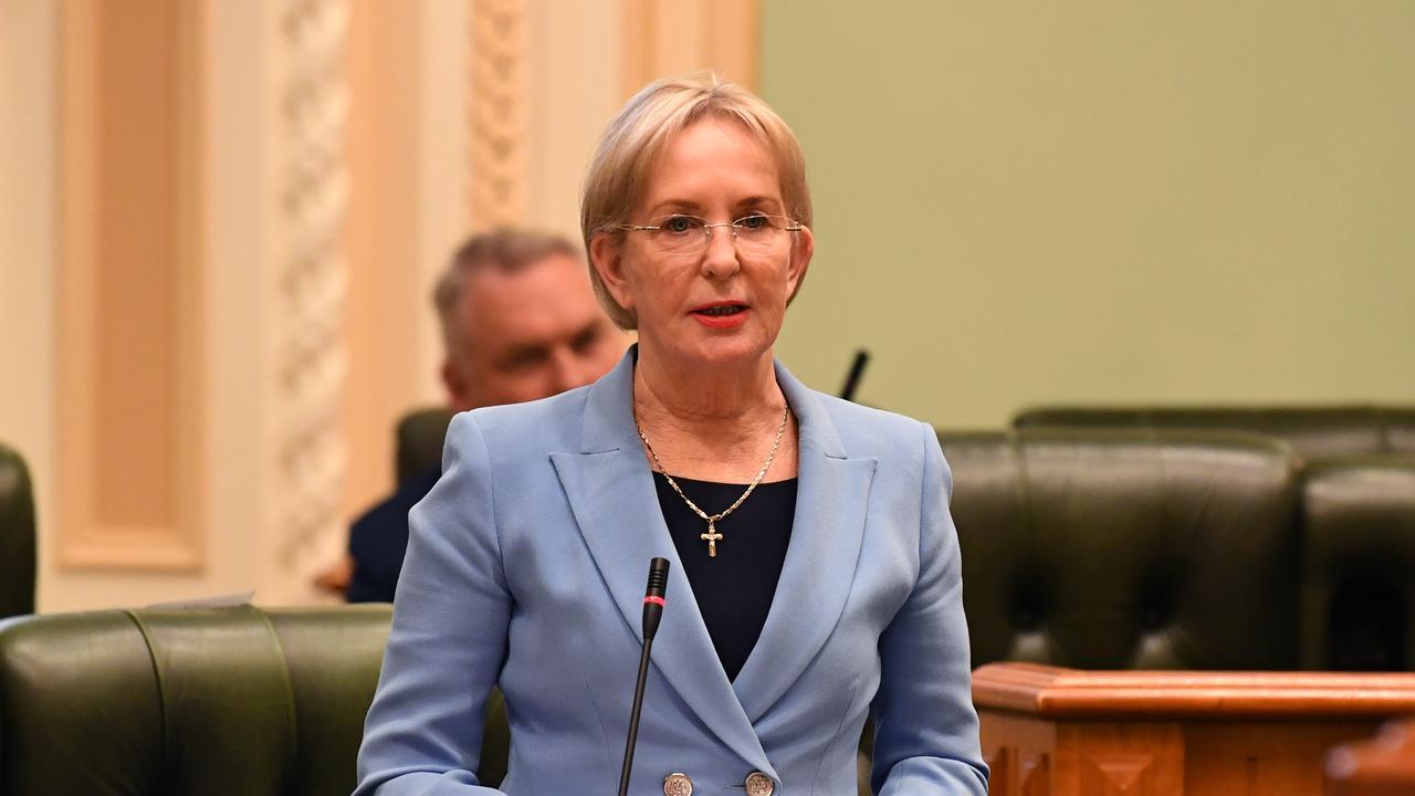 Queensland LNP Member for Mudgeeraba Ros Bates at Parliament. (AAP Image/Dan Peled)