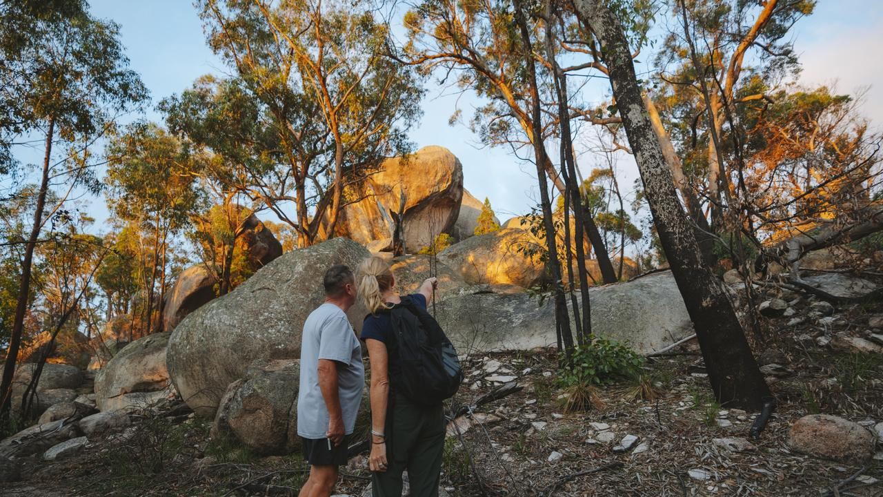 OVERFLOWING: Girraween National Park has been inundated with eager tourists looking to get back in touch with nature.