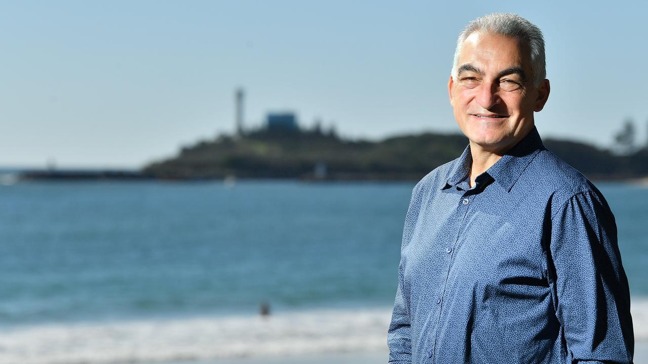 Division 4 councillor Joe Natoli at Mooloolaba. Photo: John McCutcheon / Sunshine Coast Daily