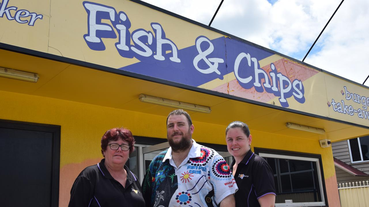 Leanne, John, and Melissa Russell from Leanne's on Berserker owe their popularity to the freshly caught local seafood they sell.