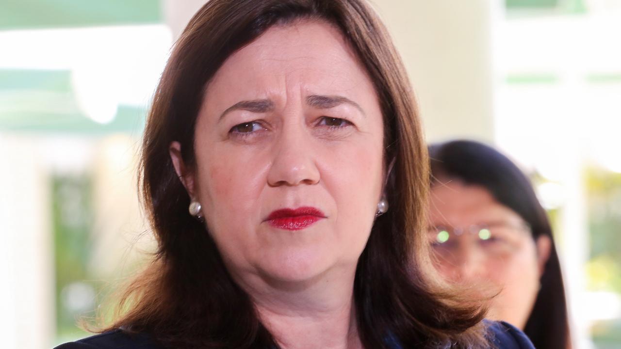 Queensland Premier Annastacia Palaszczuk. Picture: David Kapernick