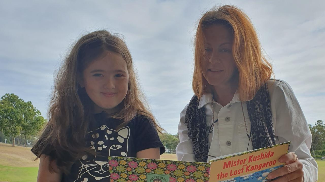 Jaceen's daughter Alannah, aged 10, is supported through Gladstone's Learning for Life program.