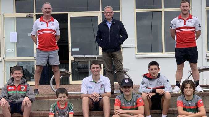 Footy club lights up with new funding
