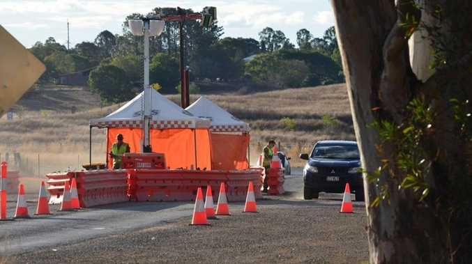 Cherbourg checkpoint comes down early