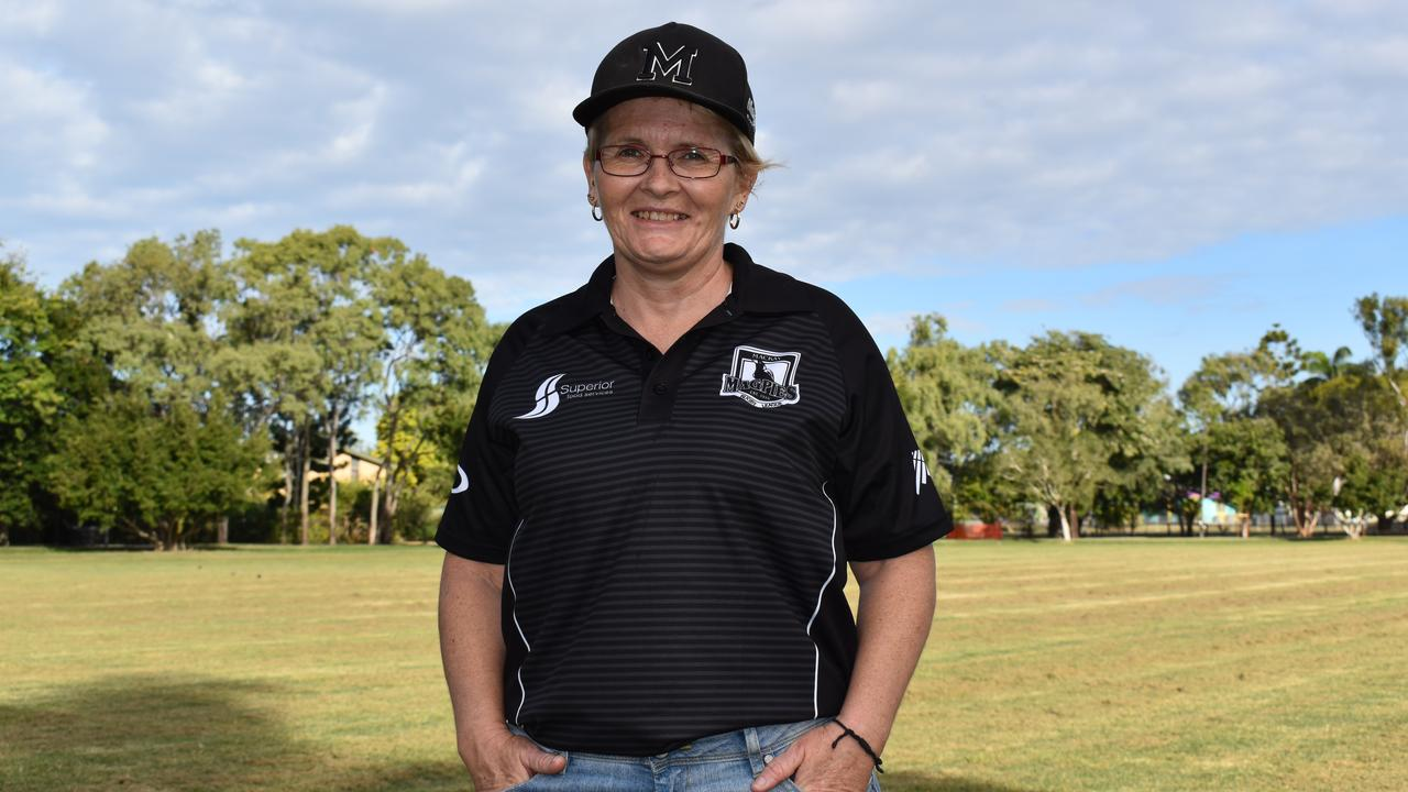 Julie Morgan from Magpies Senior Rugby League.