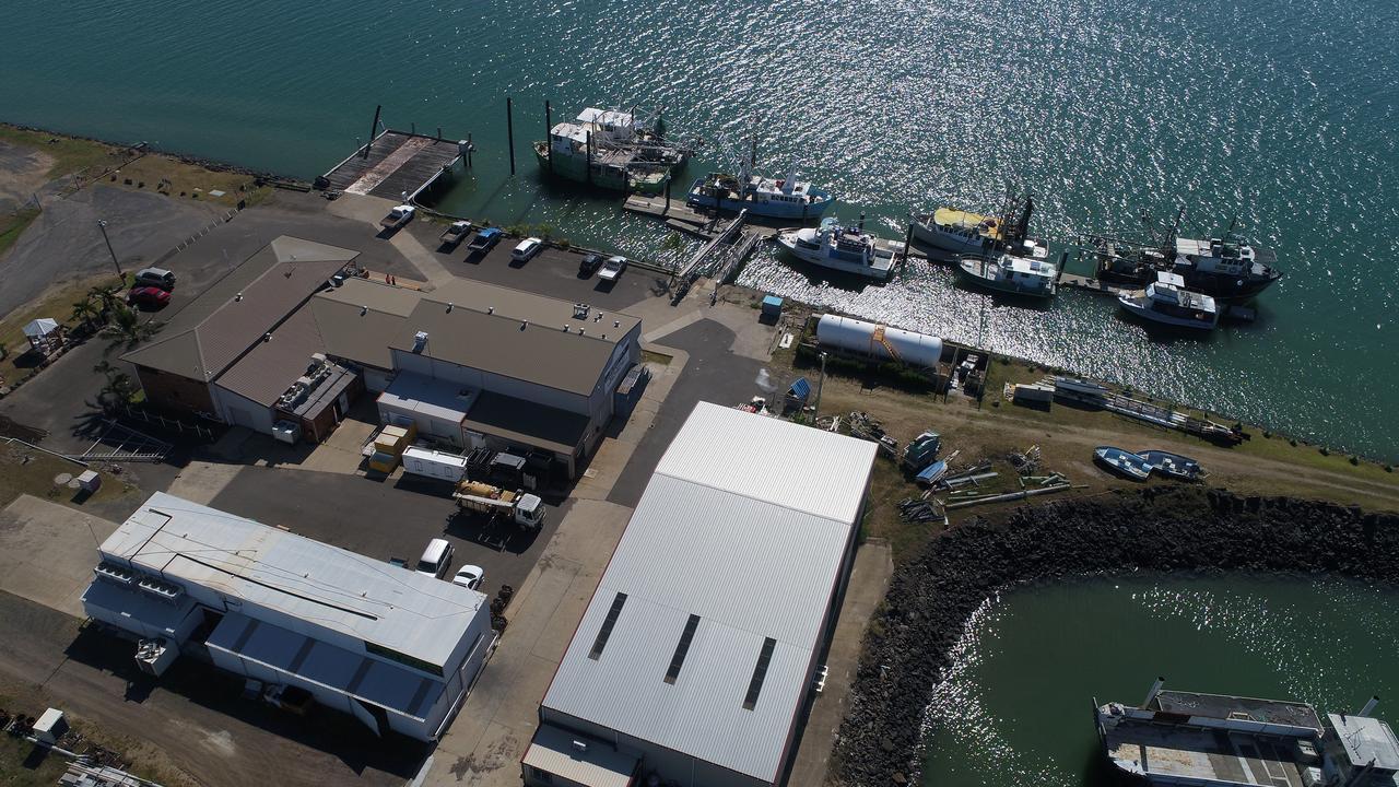 DRONE: Bundaberg Port. (Photo taken 30 March 2020)
