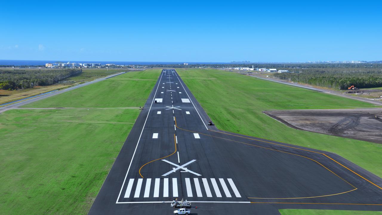 Sunshine Coast Airport runway expansion May 2020